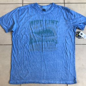 MAUI and sons light blue dyed T Shirt- XL